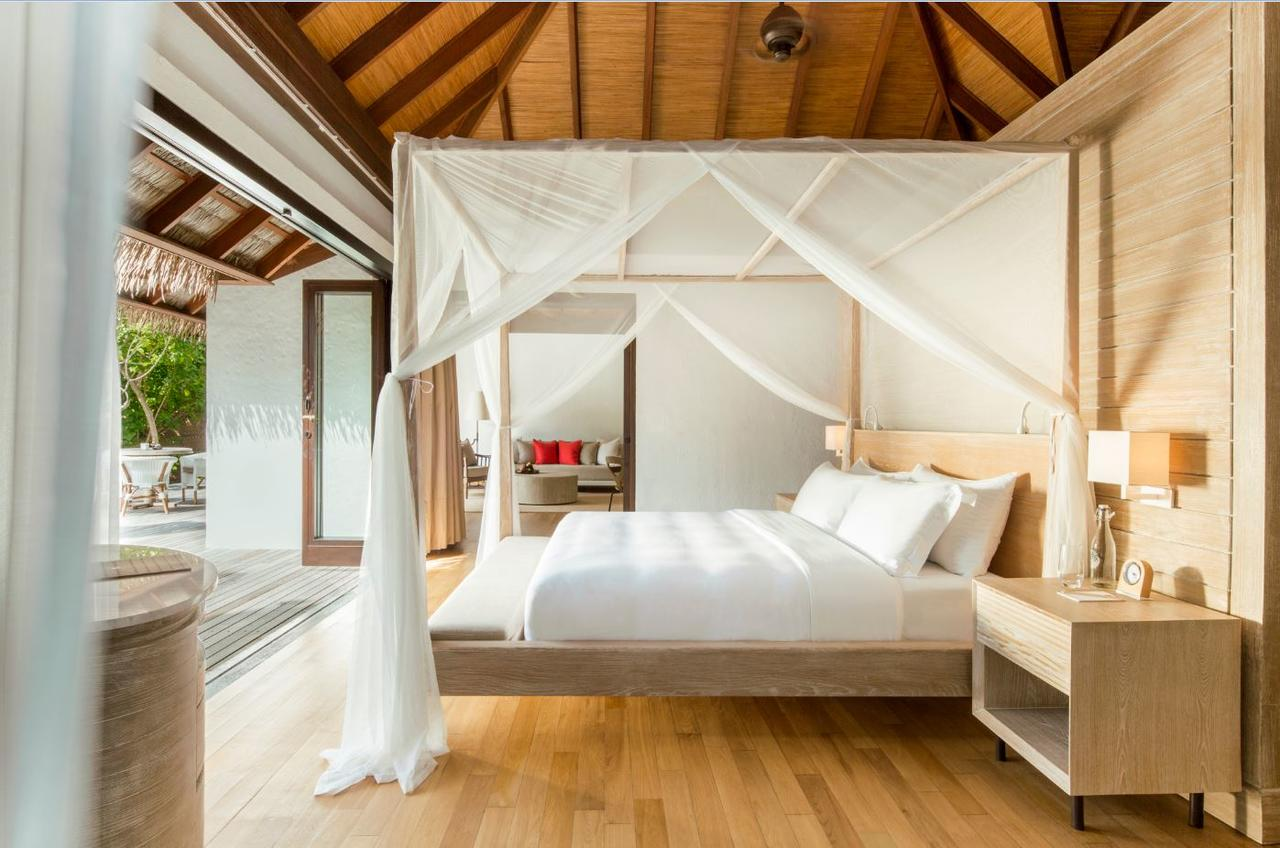 Bedroom at COMO Maalifushi