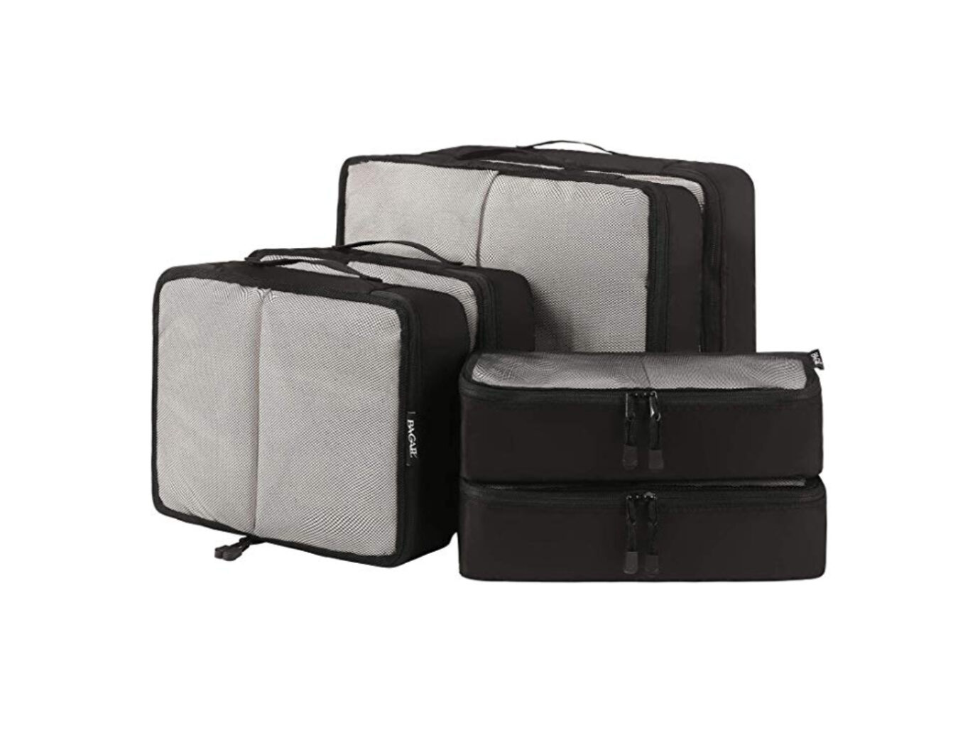6 Set Packing Cubes 6 Various Sizes Travel Luggage Packing Organizers Durable