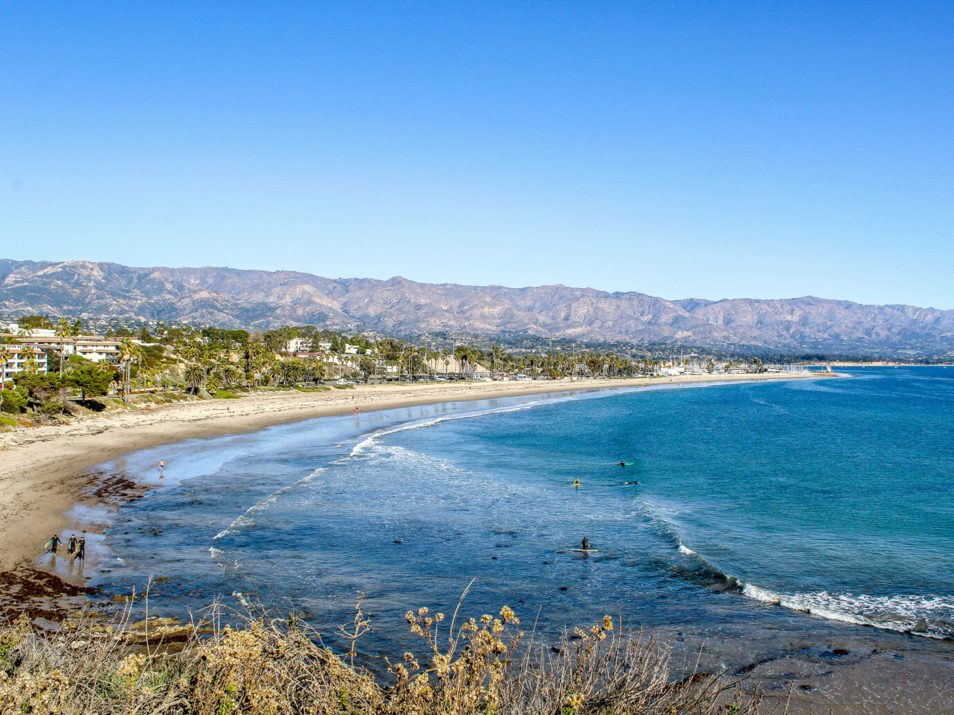 Beach in Montecito, California