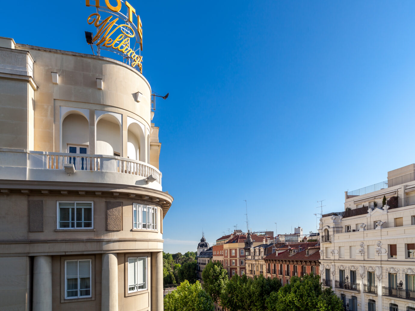 Hotel Wellington, Madrid, Spain