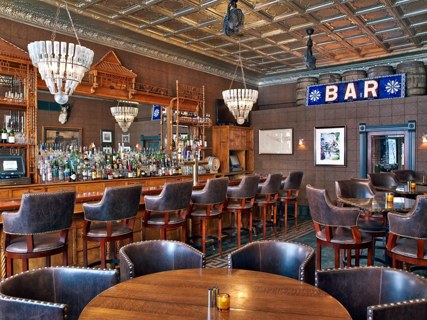 Bar at Hotel Jerome in Aspen