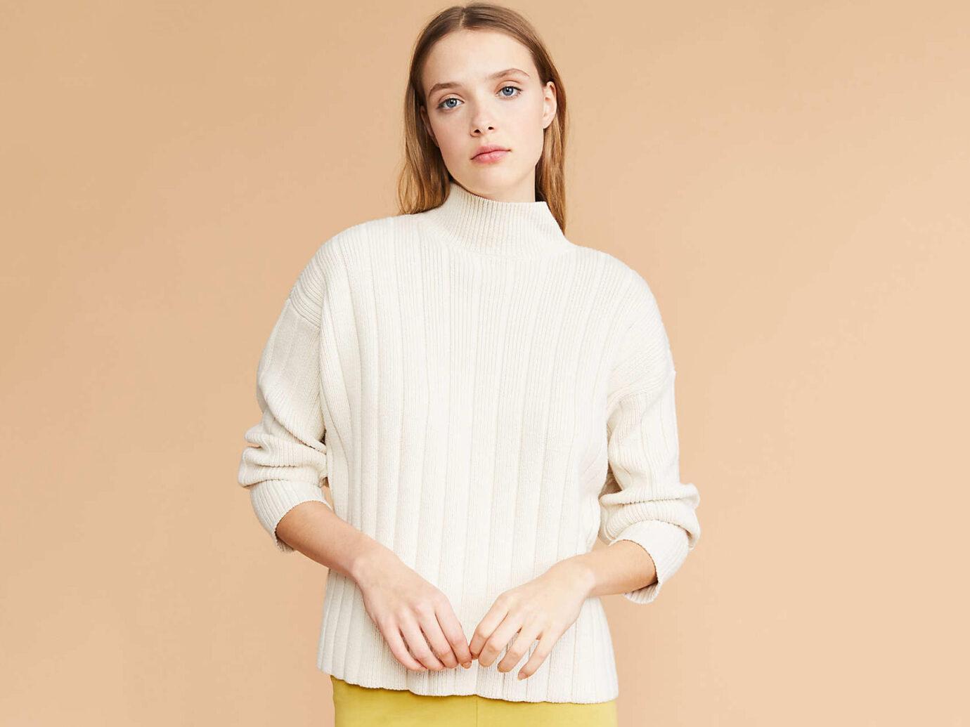 Cozyrib Mock Neck Sweater