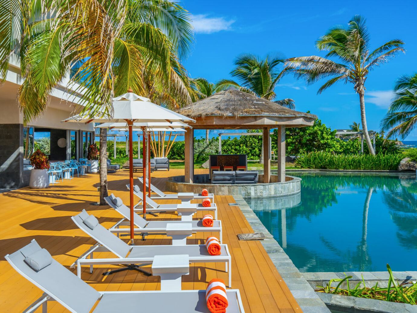 Pool at Koi Resort St Kitts
