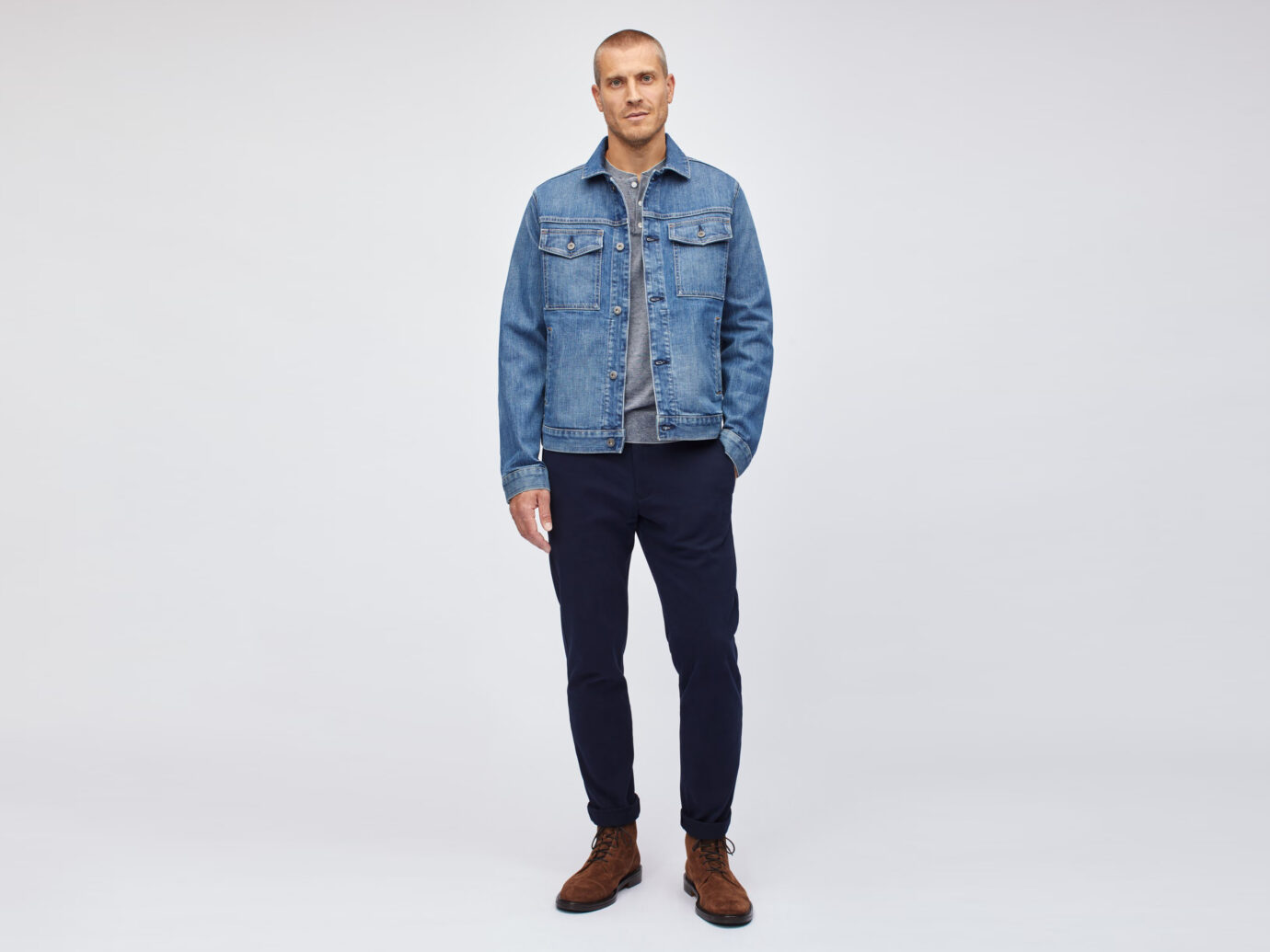 Bonobos The Stretch Denim Jacket