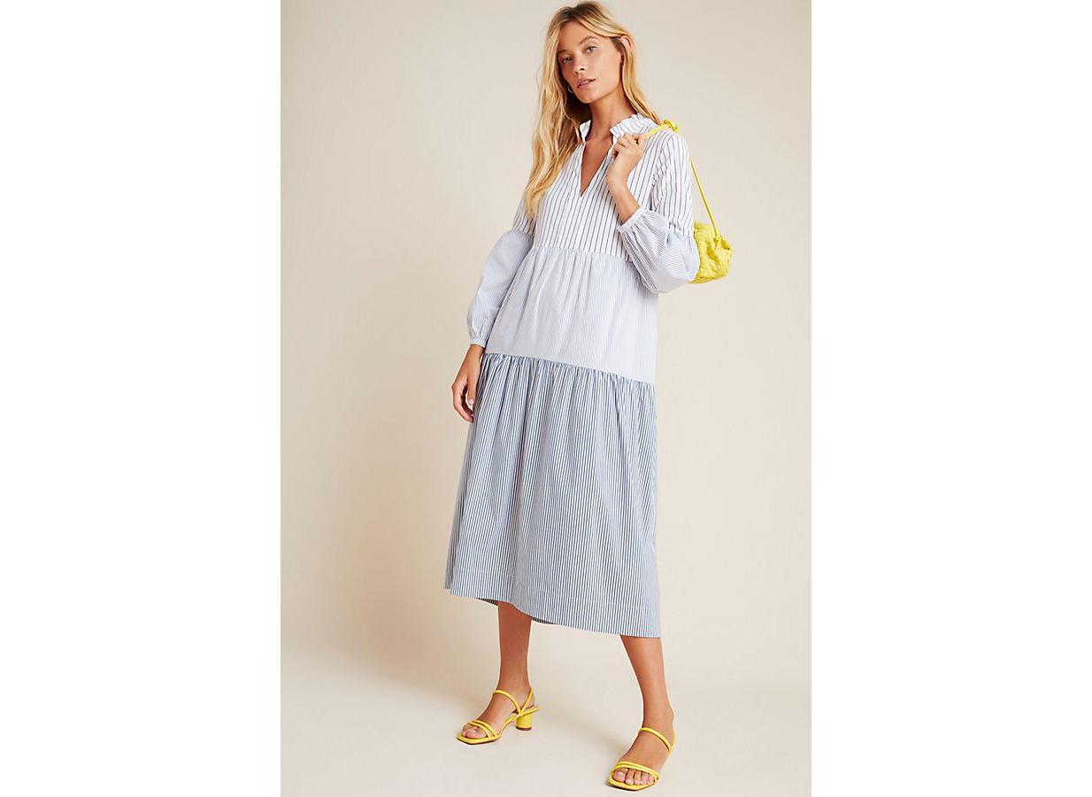 Maeve Bonnie Tiered Midi Dress