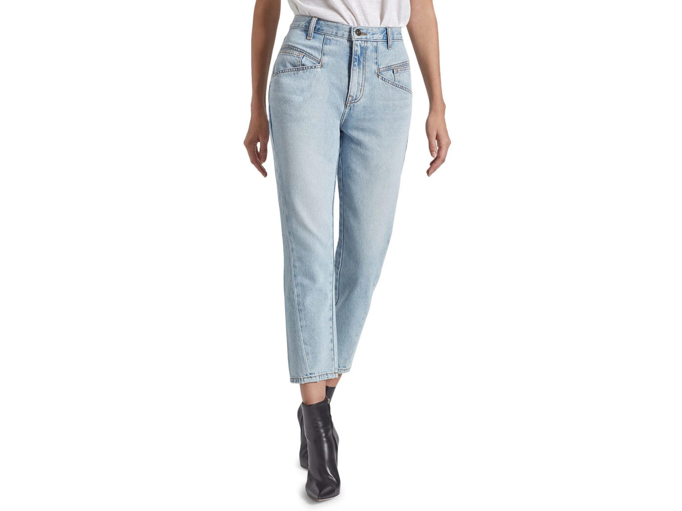 Current/Elliott The Helix Crop Jeans