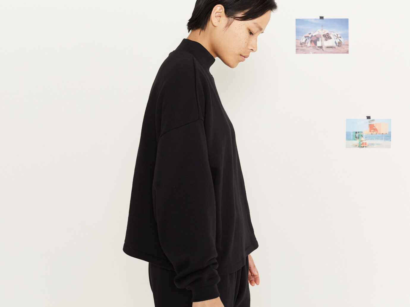 Entireworld Cotton Loop Back Sweatshirt