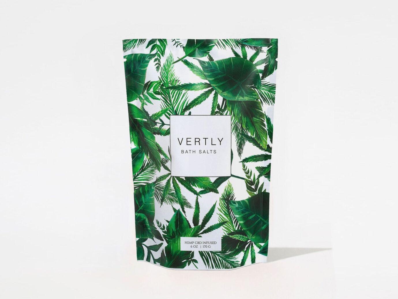 Vertly CBD-Infused Bath Salts