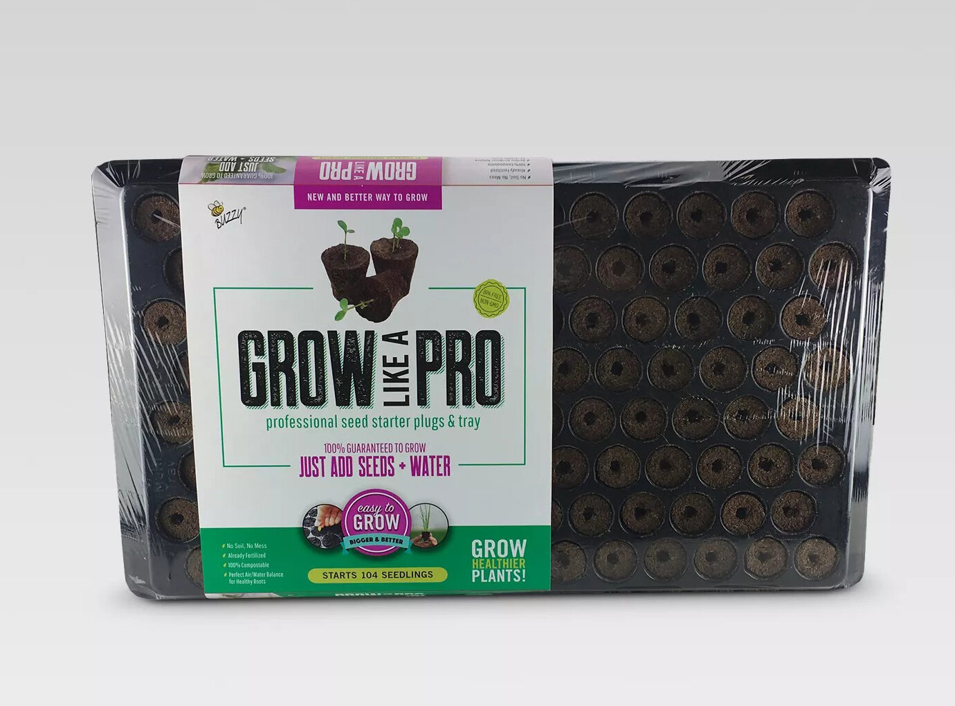 Buzzy Seeds Grow Like a Pro Planting Kit