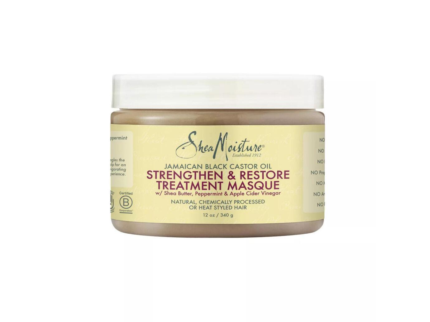 SheaMoisture Jamaican Black Castor Oil Strengthen & Restore Treatment Masque