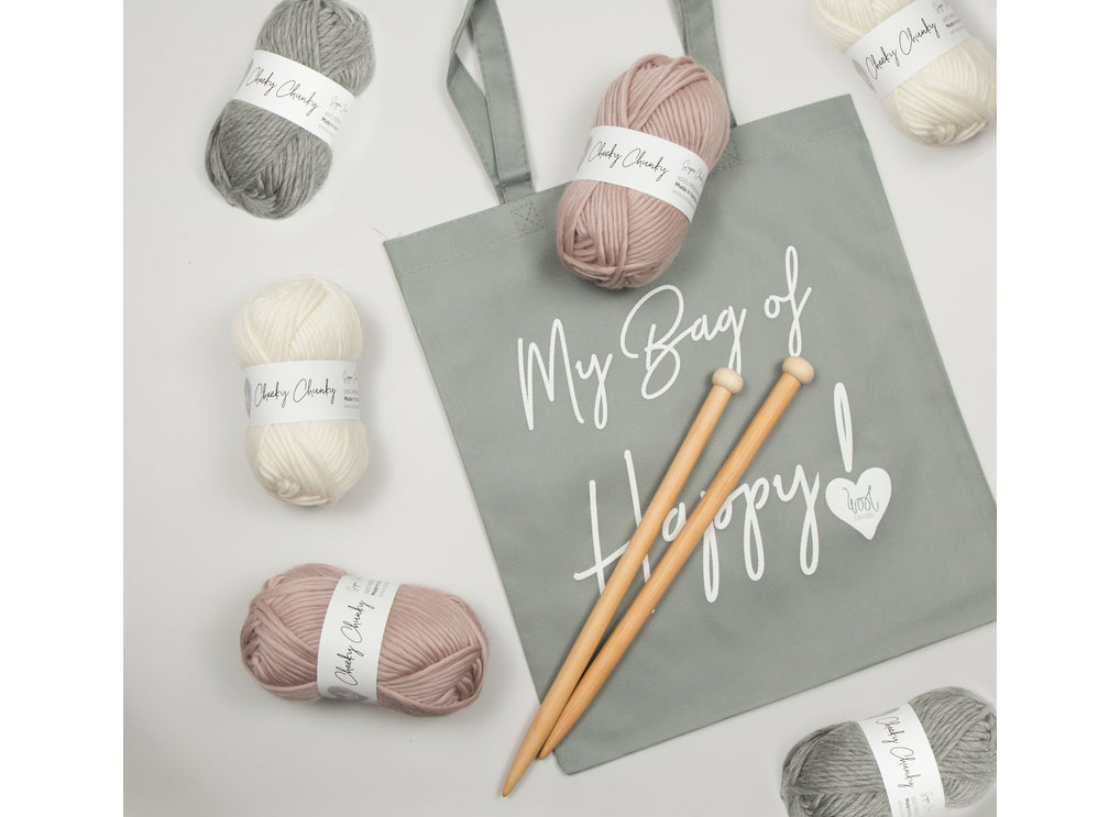 Hannah Blanket Knitting Kit