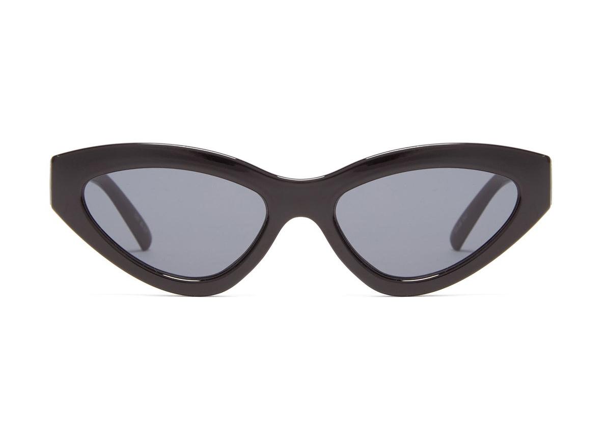 LE SPECS Synthcat cat-eye acetate sunglasses