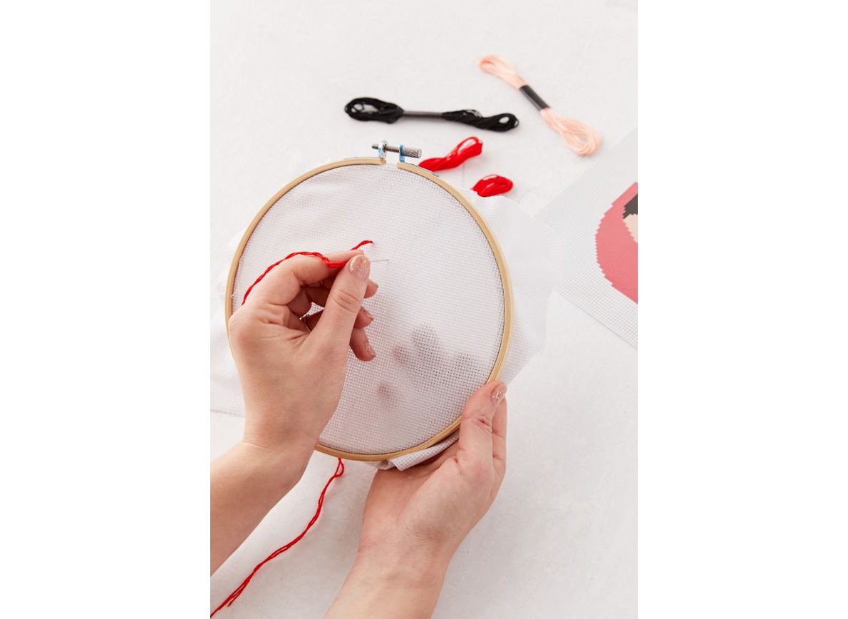 Stitch It DIY Cross-Stitch Kit