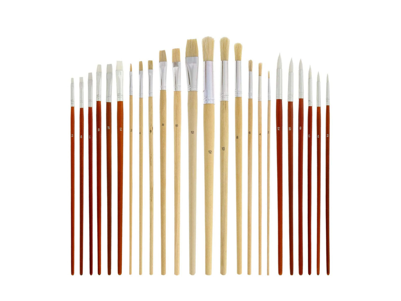 US Art Supply Brush Set